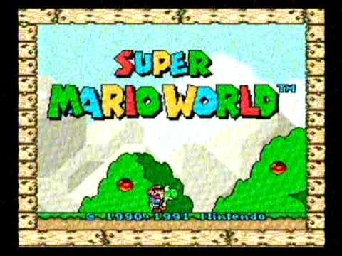 "Abertura do Jogo Super Mario World 'NITENDO"" (IgorFilmesTrailers) thumbnail"