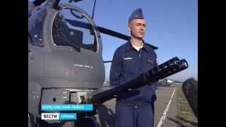 Огневые испытания новейшего российского вертолета