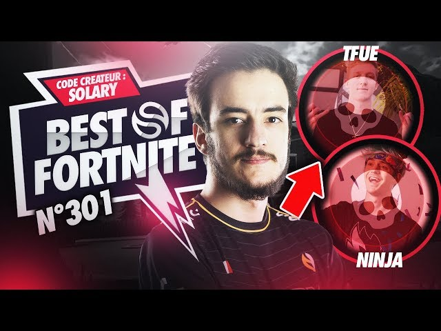 BEST OF SOLARY FORTNITE #301 ► AIRWAKS GAGNE LE PRO AM 2019