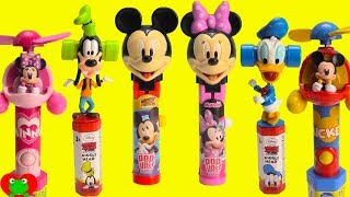 Mickey Mouse Clubhouse Friends Lollipop Ups, Giggleheads, and Candy Fans
