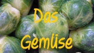 Learn German: Das Gemüse