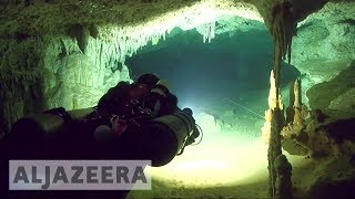 World's longest underwater cave found in Mexico 🇲🇽