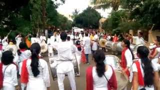 Raja Shivchatrapati Title Song on Dhol