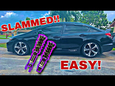 INSTALL - D2 RACING COILOVERS (2014-15 CIVIC)