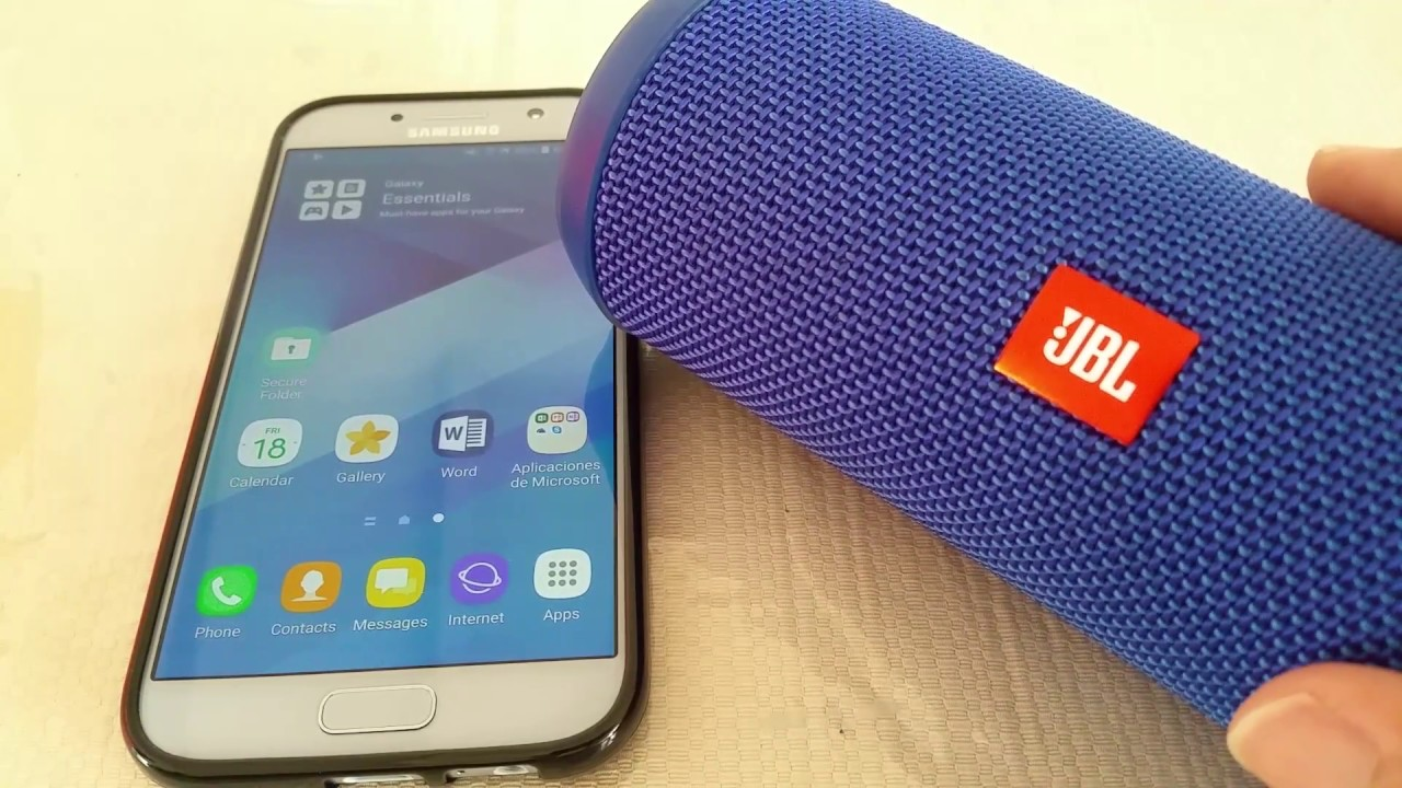 How to pair JBL Flip 3 to Samsung Galaxy A5/S7 Android