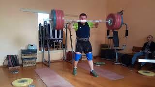 Aryamnov weightlifting. Отчет по проделанной работе