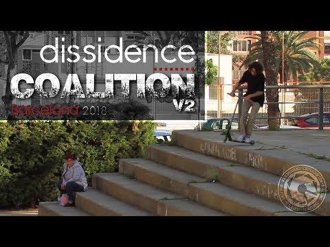 Dissidence Coalition V2 : Nick Tedrick, Didine Terchague, Kai Saunders, Jake Sorensen, Rudy Garcia