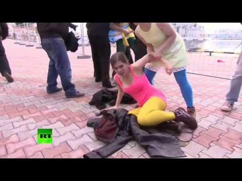 Россия - Русская феминистка киска