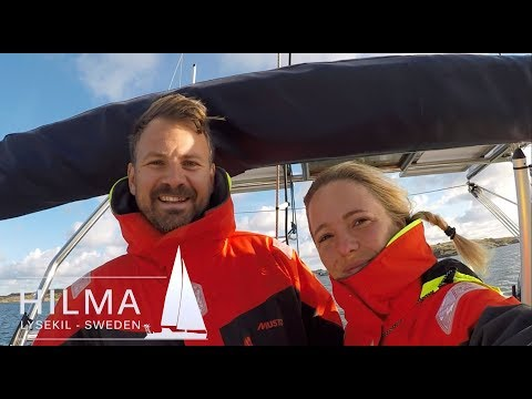 Hilma sailing, leaving Sweden, Ep 1