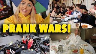 YOUTUBER PRANK WARS!😱 LA DAY ONE!! 😍😭