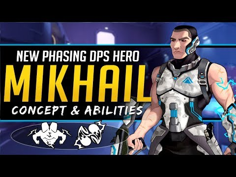 Overwatch NEW Phasing DPS Hero Mikhail Concept - Lore, Abilities and More! thumbnail