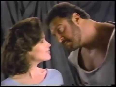 Janine Turner & Lyle Alzado 1987 Tegrin Shampoo Commercial