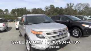 2013 ford explorer review video 3 5l v6 tow package ingot silver 98 over invoice ravenel ford