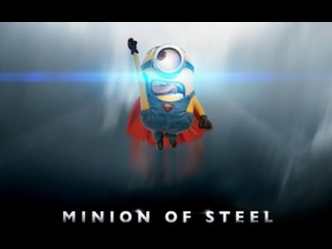 Superman Hd Wallpaper Despicable Me Super Hero Minions Teaser Youtube