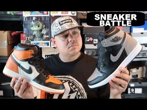 68dcd878ce1 AIR JORDAN SHADOW 1 VS SHATTERED BACKBOARD RETRO SHOES - THE TRUTH ON THE  LEATHER