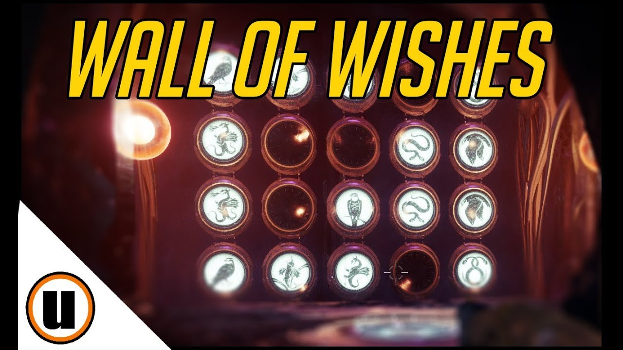 Destiny 2   How To Use Wall of Wishes - All Wishes We Know So Far