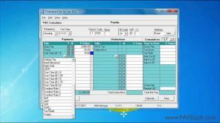 payesoft timesaver calc for tax uk paye calculator