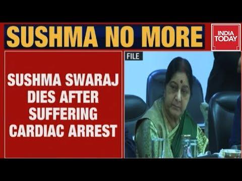 Senior BJP Leader Sushma Swaraj Passes Away At 67