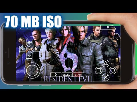 Resident Evil 6 PPSSPP Game Download Android Emulator 2020