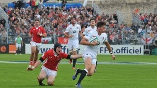 HIGHLIGHTS of England v Wales in FINAL of JWC 2013
