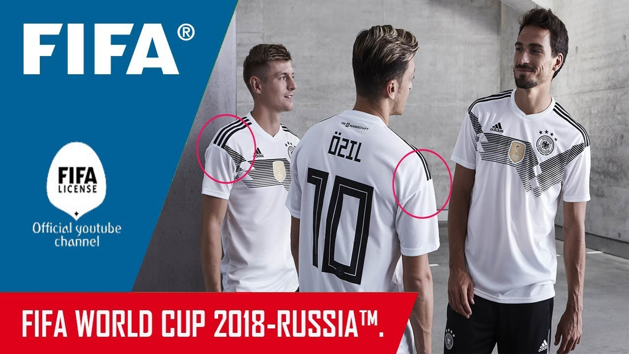 6578c2f1e GERMANY Football (GFA) 2018 World Cup Russia Home Kit Released-'FIFA ...
