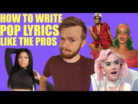 How to Write Lyrics Like a Superstar