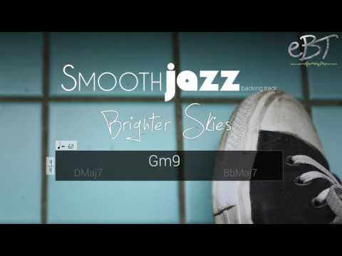 Smooth Jazz Backing Track in D Major | 60 bpm