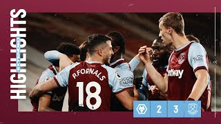 EXTENDED HIGHLIGHTS | WOLVES 2-3 WEST HAM UNITED