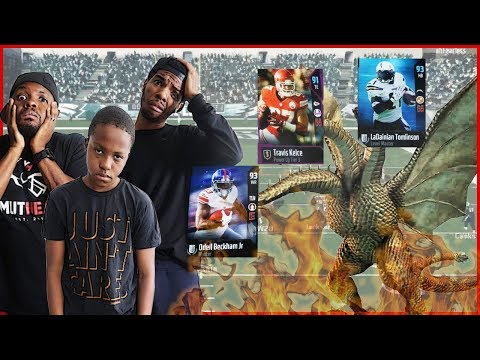FACING OFF AGAINST A SUPER BEASTY TEAM!! - Madden 18 MUT Squads Gameplay