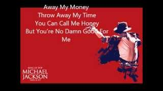 Michael Jackson Dangerous Lyrics