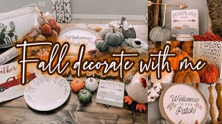 FALL FARMHOUSE DECORATE WITH ME | 2019 FALL DECORATION TOUR
