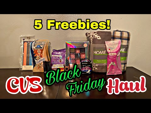 CVS Black Friday Haul! Get 5 Freebies I 11/26-28/2020