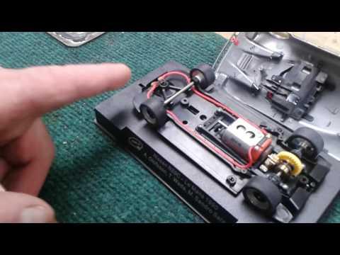 Slot it Car chipped to Carrera digital PT2