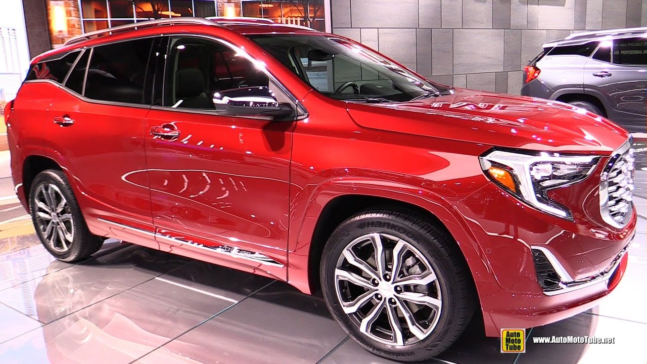 2018 GMC Terrain Denali   Exterior and Interior Walkaround   Debut     2018 GMC Terrain Denali   Exterior and Interior Walkaround   Debut at 2017  Detroit Auto Show   YouTube