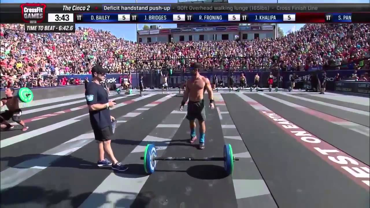The Cinco 2 Crossfit Games 2013 Event 12 12 Youtube