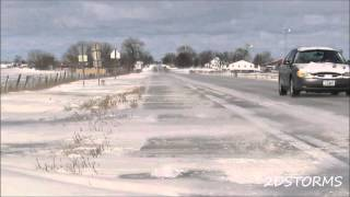 Snow and Ice Covered Roads  **1080p HD**