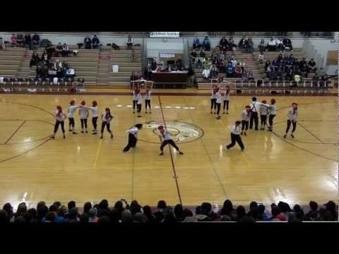 Schoenbar Middle School Dance Team