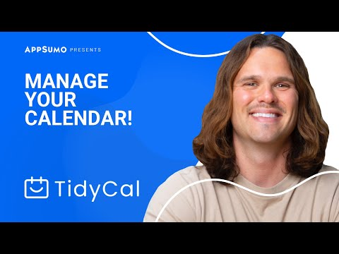 Make Scheduling Your Next Meeting Easy with TidyCal