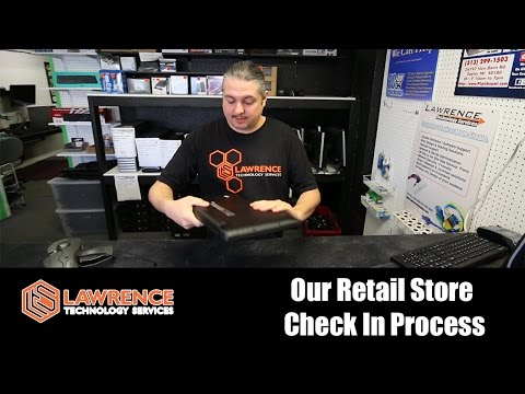 Quick Overview of our Retail Store Check in Process