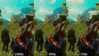 1080p Vs 900p Vs 720p (GTA V, AC Unity, The Witcher 3) [GTX 1080]
