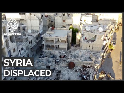 Syrians flee camps and return to destroyed homes in Idlib