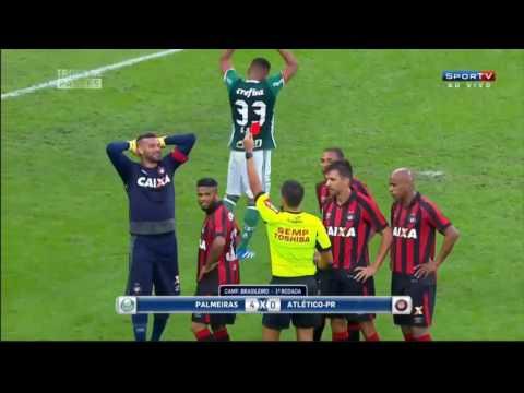 Palmeiras 4 x 0 Atlético PR Gols e Melhores Momentos Brasileirão 2016