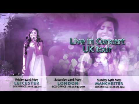 Shreya Ghoshal  in Concert UK Tour 2015