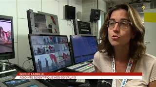 Reportage tv sur le camp d'été Graines d'Entrepreneurs pour les filles HES-SO Valais