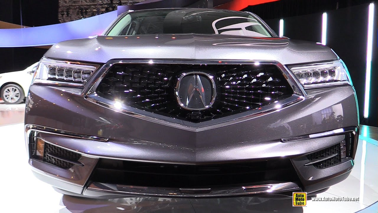 2017 Acura Mdx Exterior And Interior Walkaround Debut At 2016 New York Auto Show You