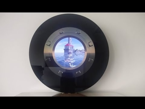 Round - Circle LCD Display For POI I POS And Signage