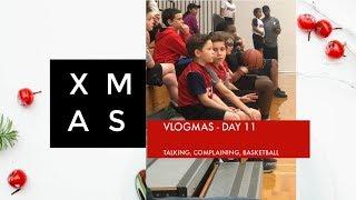 Vlogmas Day 10 - December Birthday Girl, My Neighbors Elves & Basketball