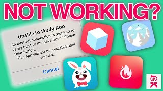 WHY TWEAKED APPS AREN'T WORKING! (TweakBox, TutuApp, Ignition, App Valley, and more!)