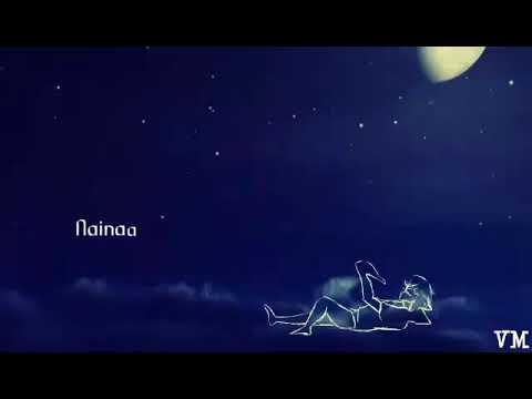 Naina from Dangal song lyrics ll  WhatsApp status song ll Love song by V M