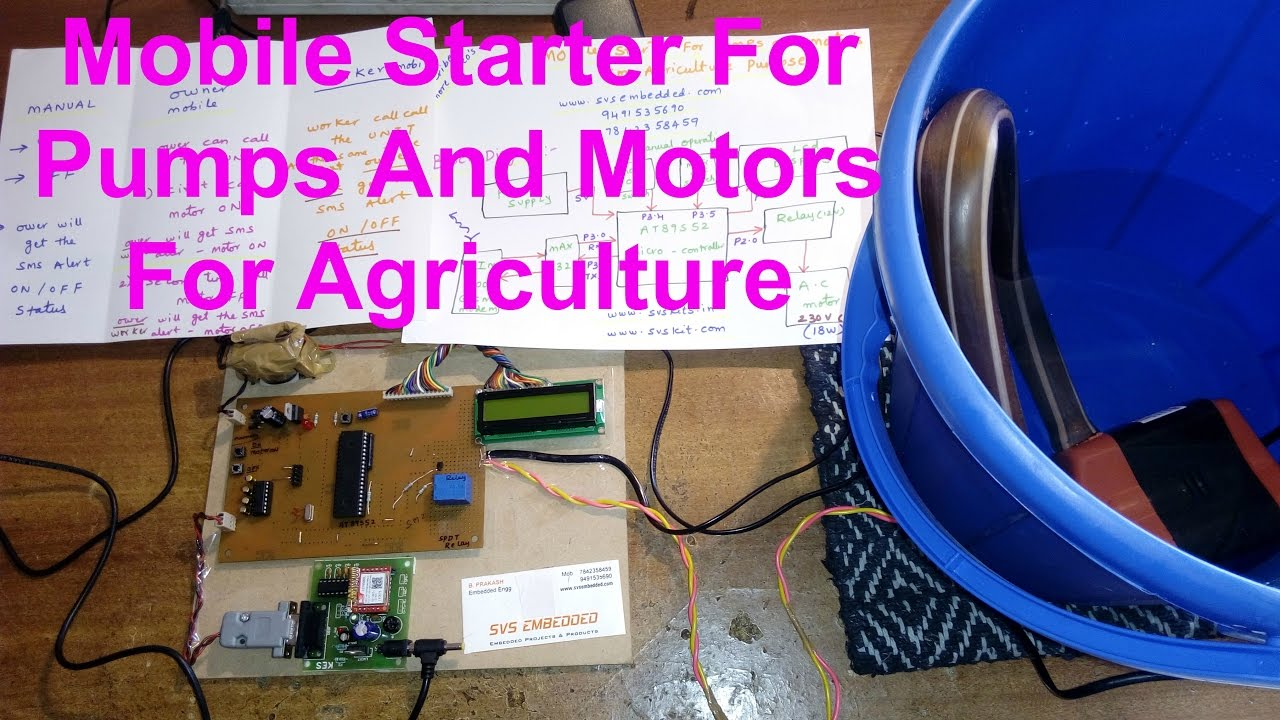 Mobile Starter For Pumps And Motors Agriculture Purpose Youtube Single Phase Submersible Pump